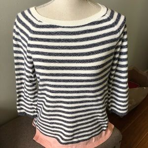 Talbots sweater, size medium.